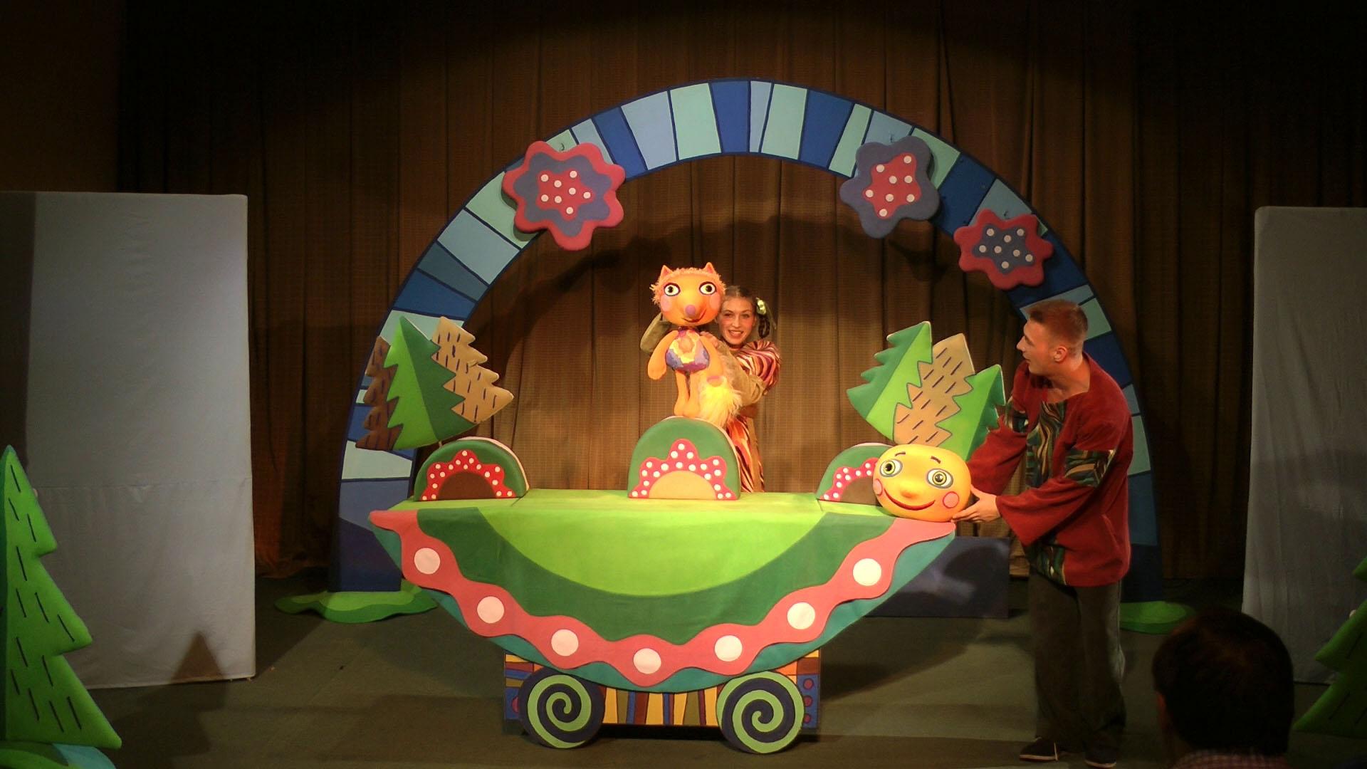 для кукольный театр картинки к сказке колобок они напоминают советскую